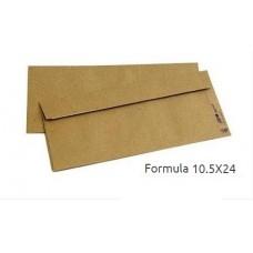 Asil Diplomat Zarf Formula Silikonlu Düz 105x240 100 Gr