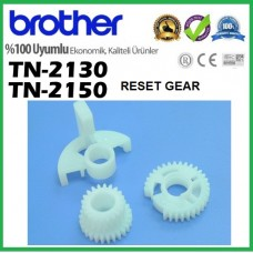 Brother TN-2150 Reset Gear