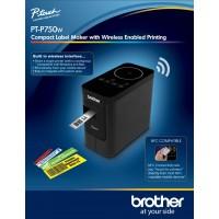 Brother P-TOUCH PT-P750W 6 - 24MM Baskı TZE Serisi Etiket Yazıcı Bilgisayar Bağlantılı Masa Üstü Wireless NFC
