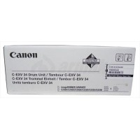 Canon C-EXV34 BK Siyah Orijinal Drum, IR Advance C 2020, IR Advance C 2030, 3786B003BA