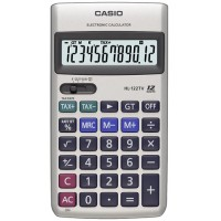 Casio HL-122TV Taşınabilir Hesap Makinesi 12 Hane