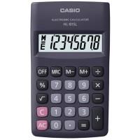 Casio HL-815L-BK Taşınabilir Hesap Makinesi 8 Hane