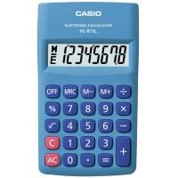 Casio HL-815L-BU Taşınabilir Hesap Makinesi 8 Hane