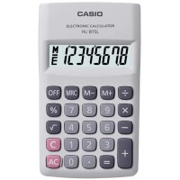 Casio HL-815L-WE Taşınabilir Hesap Makinesi 8 Hane
