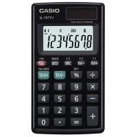 Casio SL-797TV-BK Cep Tipi Pratik Hesap Makinesi Güneş Enerjisi / Pil 8 Hane