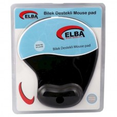 ELBA K06152 Jel Mouse Pad Siyah