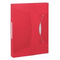 Esselte 624048 Kırmızı Vıvıda Kalın Lastikli Dosya
