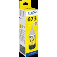 Epson T6734 Sarı Orijinal Mürekkep Şişe 70ML C13T67344A