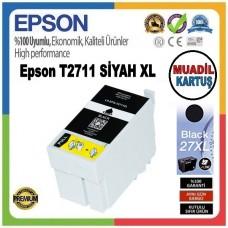 Epson T2711 Siyah MUADİL Mürekkep Kartuş 17.7ML 27XL C13T27114012