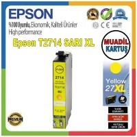 Epson T2714 Sarı MUADİL Mürekkep Kartuş 17.7ML 27XL C13T27144012