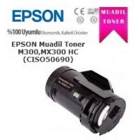 Epson C13S050690 Siyah MUADİL Toner Kartuş 2700 Sayfa, WorkForce AL-M300, AL-MX300