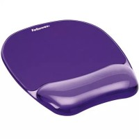 Fellowes Crystals™ Jel Bilek Desteği Mouse Pad - Mor 7574-02