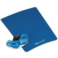Fellowes Crystals Health-V™ Avuç İçi Mouse Desteği Mavi 7854