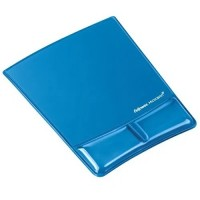 Fellowes Crystals Health-V™ Mouse Pad Bilek Desteği Mavi 7855