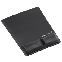 Fellowes Crystals Health-V™ Mouse Pad Bilek Desteği Siyah 7855