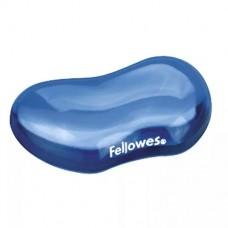 Fellowes Crystals™ Jel Esnek Klavye Bilek Desteği Mavi 7863-04