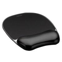Fellowes Crystals™ Jel Mousepad Bilek Desteği Siyah 7864