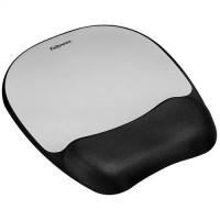 Fellowes Akıllı Köpük Mousepad Bilek Desteği Gümüş Desenli 7866-17