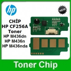 HP 56A Siyah Laserjet Toner CHİP CF256A