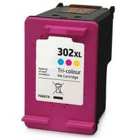 HP 302XL Renkli MUADİL Mürekkep Kartuşu (F6U67AE)