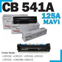 HP 125A Mavi Muadil Toner Kartuşu (Xbox) CB541A