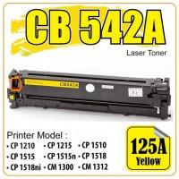 HP 125A Sarı Muadil Toner Kartuşu (Bluebox) CB542A