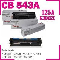 HP 125A Kırmızı Muadil Toner Kartuşu (Xbox) CB543A