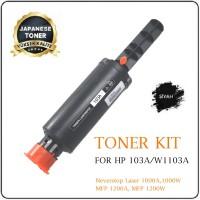 HP 103A Siyah Muadil Premium Neverstop Laser Toner Dolum Seti 2.500 Syf. (W1103A)