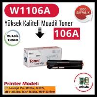 HP 106A Siyah Muadil Xbox LaserJet Toner Kartuşu W1106A (CHİPSİZ)