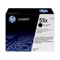 HP 55X Yüksek Kapasiteli Siyah Orijinal LaserJet Toner Kartuşu CE255X