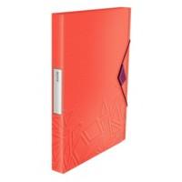 Leitz 3999 Urban Chic Kalın Lastikli Dosya Kırmızı