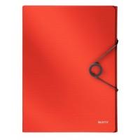 Leitz 4568 Solid Kalın Lastikli Dosya Kırmızı
