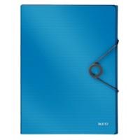 Leitz 4568 Solid Kalın Lastikli Dosya Mavi