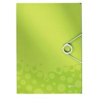 Leitz 4599 Active WOW İnce Lastikli Dosya Metalik Yeşil