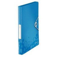 Leitz 4629 Active WOW Kalın Lastikli Dosya Metalik Mavi