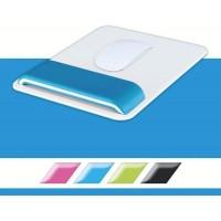 Leitz 65170036 WOW Mouse için Bilek Desteği Metalik Mavi