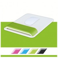 Leitz 65170054 WOW Mouse için Bilek Desteği Metalik Yeşil