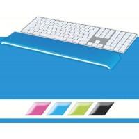 Leitz 65230036 WOW Klavye için Bilek Desteği Metalik Mavi
