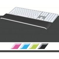Leitz 65230095 WOW Klavye için Bilek Desteği Metalik Siyah