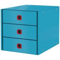 Leitz 53680061 Cosy C&S 3 Çekmeceli Evrak Rafı Mavi