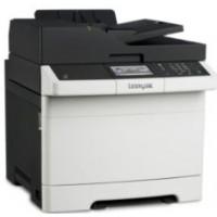 Lexmark CX410E Renkli Laser Yazıcı, Fotokopi, Tarayıcı,Fax, Network, A4