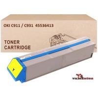 OKI 45536413 Sarı Muadil Japanese Toner / C911, C931 / 24000 Sayfa