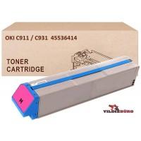 OKI 45536414 Kırmızı Muadil Japanese Toner / C911, C931 / 24000 Sayfa