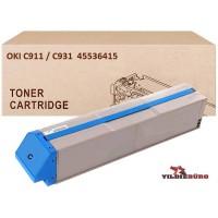 OKI 45536415 Mavi Muadil Japanese Toner / C911, C931 / 24000 Sayfa
