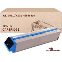 OKI 45536416 Siyah Muadil Japanese Toner / C911, C931 / 24000 Sayfa