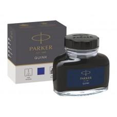 Parker 1950376 Quink Şişe Mürekkep, Mavi