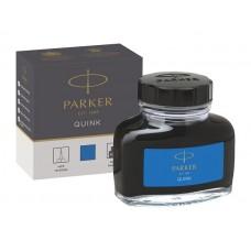 Parker 1950377 Quink Şişe Mürekkep, Yıkanabilir Mavi