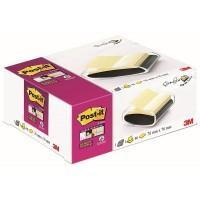 Post-it® PROB  Super Z-Not Sarı, 90 yaprak, 76x76mm + Siyah Dispenser