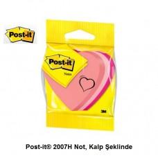 Post-it® 2007H Not, Kalp Şeklinde, 225 yaprak