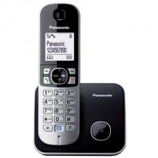 Panasonic KX-TG-6811 Dect 120 Rehber Caller Id Siyah Alarm Telefon